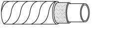 EN854 2TE Rubber Hydraulic Hose