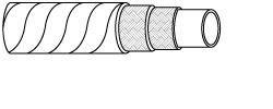 EN857 2SC Compact Rubber Hydraulic Hose