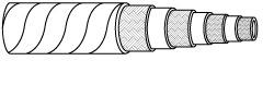 EN856 4SH Multi-Spiral Rubber Hydraulic Hose