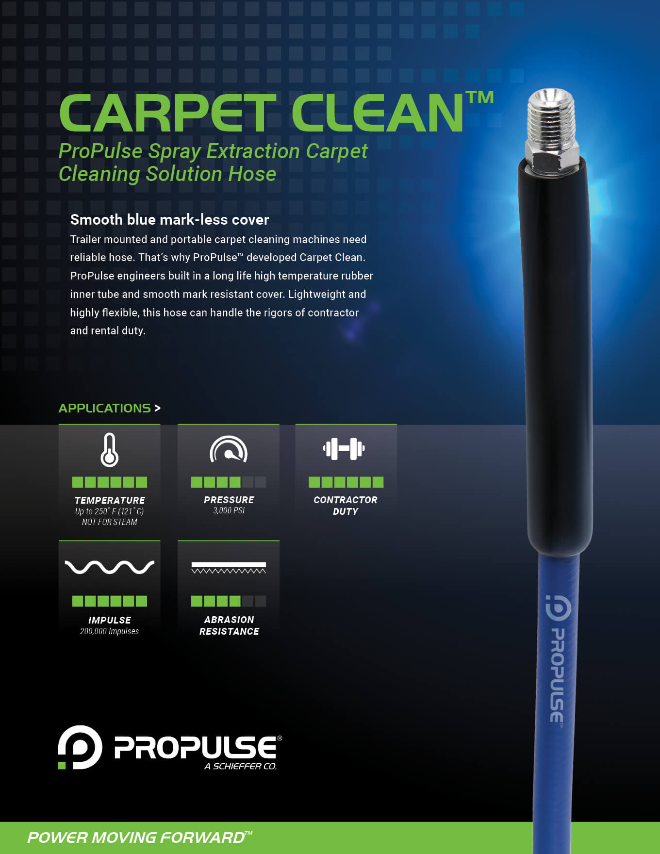 Spray Extraction Carpet Cleaning Hose